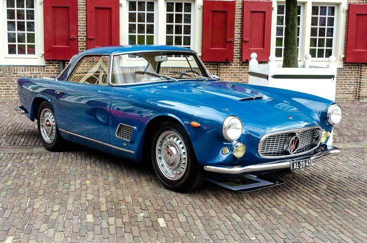 Maserati 3500 GT Touring Blue 3500 CC's 1962   Maserati car, Maserati, Classic sports cars