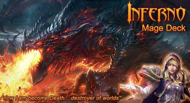 Legendary Execution - Inferno Mage - Hearthstone Decks