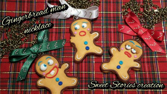 Check out this item in my Etsy shop https://www.etsy.com/listing/212288525/gingerbread-man-necklace-food-miniature