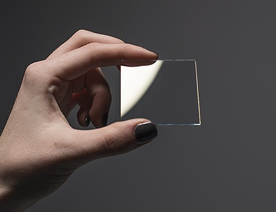 $6 ITO (Indium Tin Oxide) Coated Glass - 50mm x 50mm