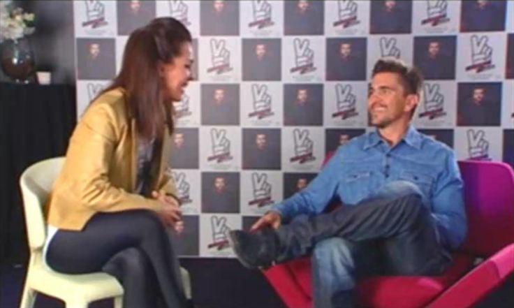 Entrevista a Juanes para TV, realizada por Melania Guijarro. Madrid. 2011.