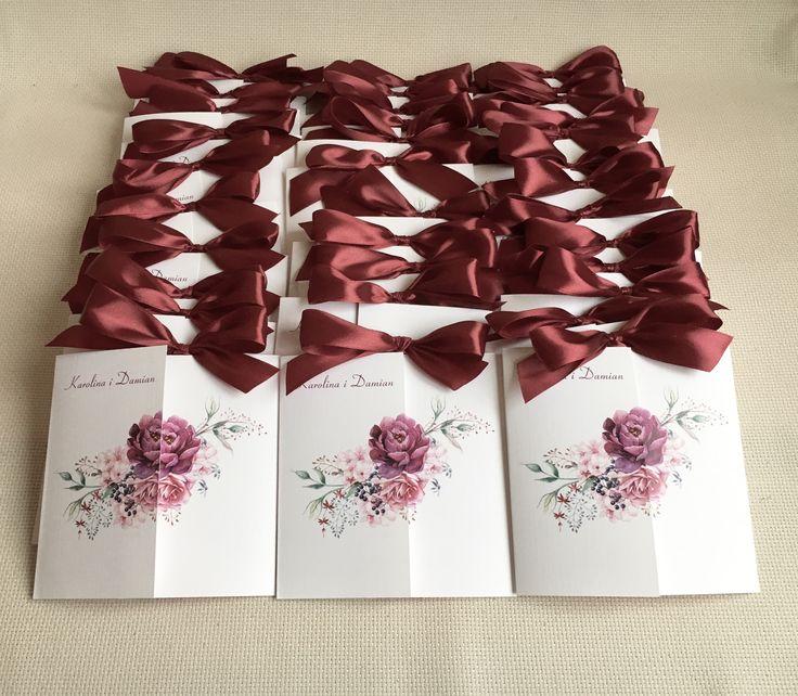 Zaproszenie ślubne kwiatem  #zaproszenia #zaproszenie  #slub #wesele #narzeczeni #paramloda #kwiaty