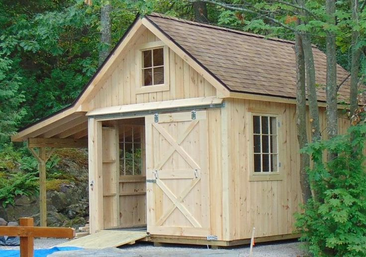 Vermont Sheds and Barns Custom Built on site - VERMONT custom sheds