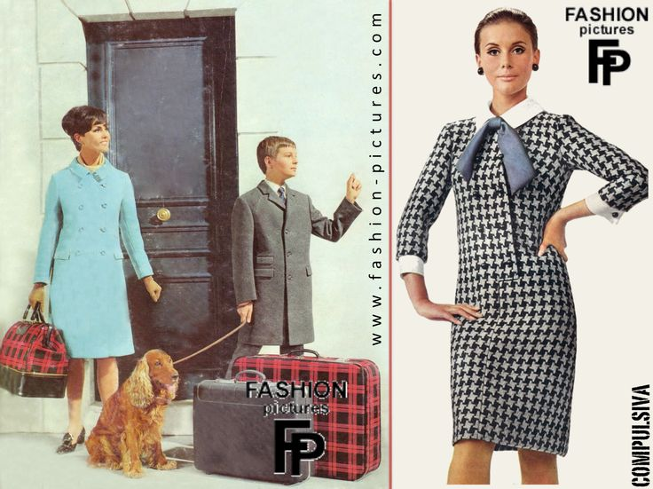 Préférence 48 best Moda de los 60 images on Pinterest | Fashion history  DW52