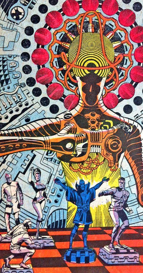 Nick Fury - Jim Steranko.