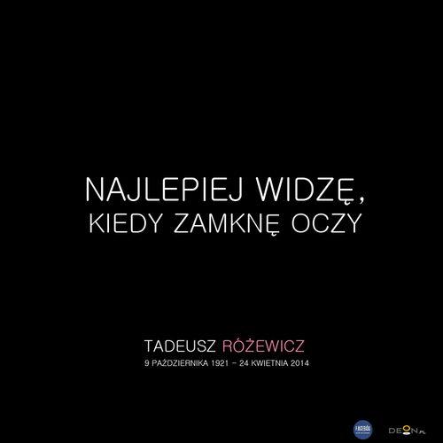 #różewicz