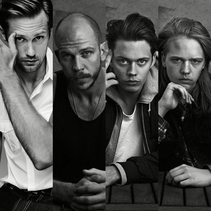 I think it's safe to say the Skarsgard's have good genes alexanderskarsgard gustaf skarsgard bill skarsgard valter skarsgard