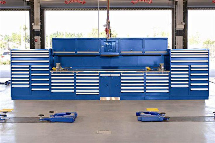 Automotive Shop Storage Solutions Design Pinterest