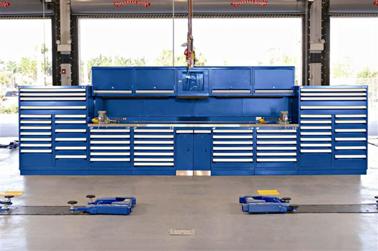 automotive shop storage solutions