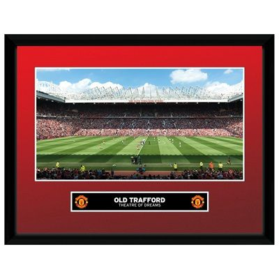 Manchester United Old Trafford Framed Print - 16 x 12 Inch: Manchester United Old Trafford… #ManUtdShop #MUFCShop #ManchesterUnitedShop