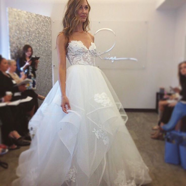 """The """"Chantelle"""" gown by Hayley Paige / Style 6552"""