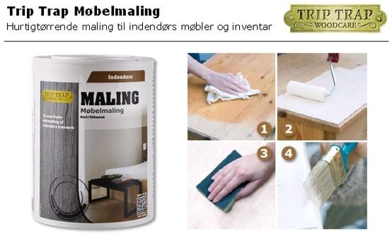 Trip Trap Møbelmaling