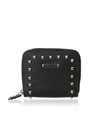 64% OFF Rebecca Minkoff Women's Sylvie Small Zip Wallet With Studs, Black