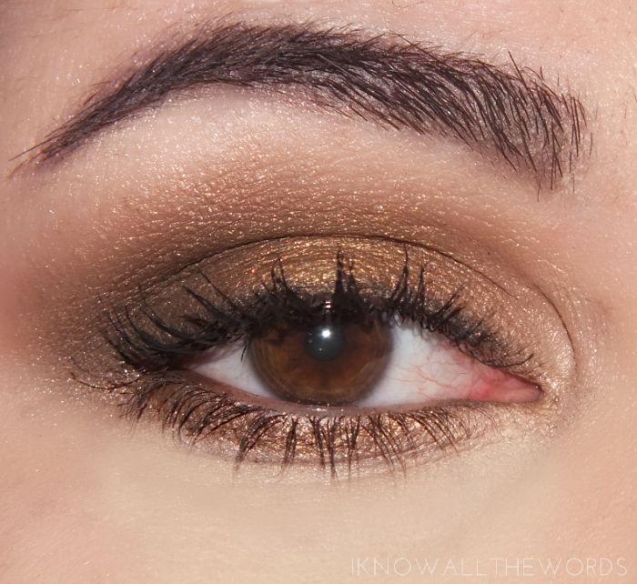 maybelline the nudes palette eye look