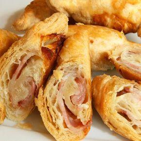 Baconös-sajtos sós kifli Recept képpel - Mindmegette.hu - Receptek