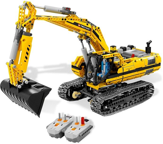 lego 8043 excavator (part of my collection)