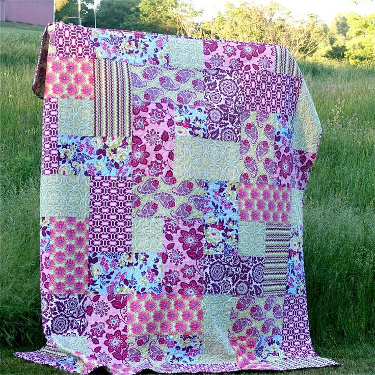 Best 25+ Big block quilts ideas on Pinterest Easy quilt patterns, Large print quilt blocks and ...