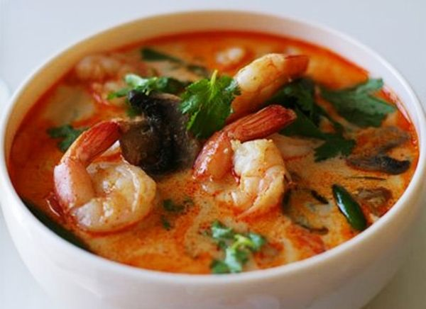 One of my favorite Thai dishes is Tom Yum or Tom Kha gai! Hot & Sour Thai Soup is full of healthy, fresh ingredients and a soothing broth! Lemongrass, ginger, fresh Thai chilies, kaffir l…