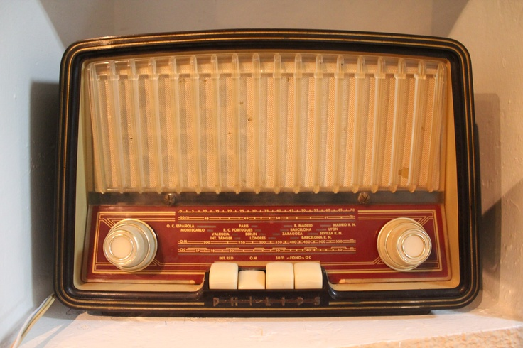 "Philips B3E72U (1957) ""Antique radio"", ""Tube radio"""