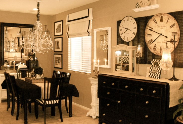 Love this!!!!! My moms house :)My Friend, Dining Room