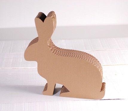 Cardboard Rabbit Box