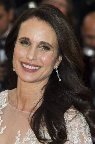 Andie MacDowell, un sourire extra white