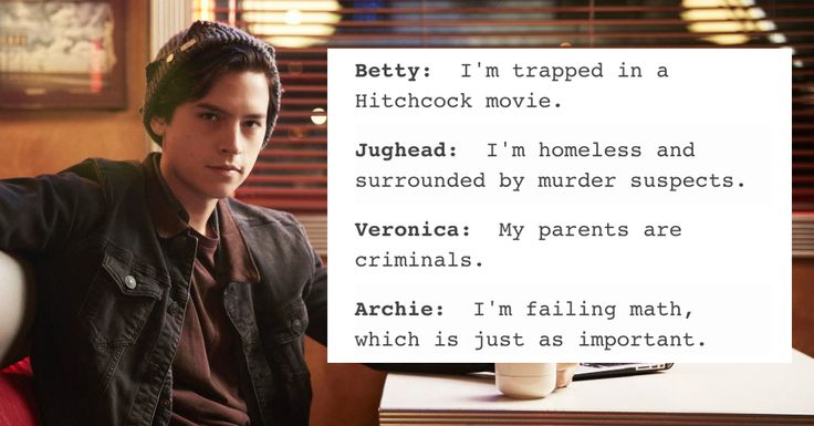"Just 21 Hilarious Tumblr Posts About ""Riverdale"""