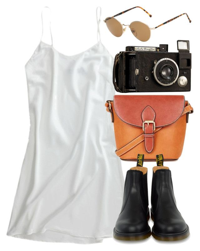 """Untitled #5549"" by rachellouisewilliamson on Polyvore featuring Topshop, Dr. Martens and Persol"