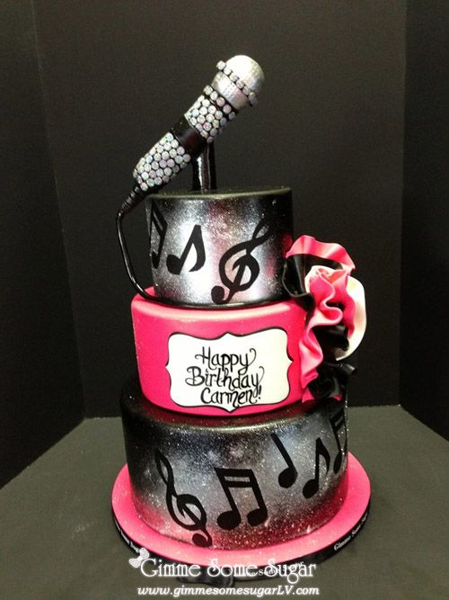 Gimme Some Sugar Las Vegas | Tiered Birthday Cakes ...