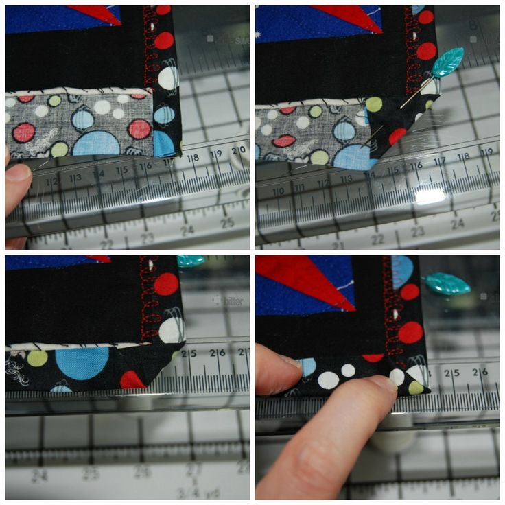 Tutorial For Using The Quilt Backing As Binding