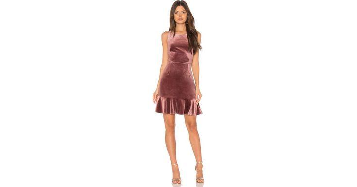 Rebecca minkoff Tiffany Dress in Purple | Lyst