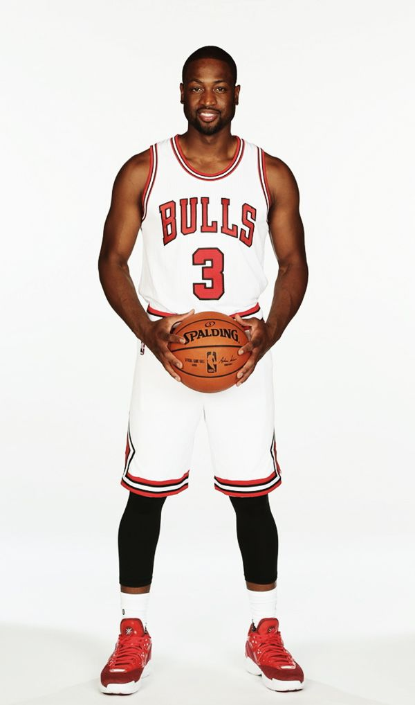 "fyeahbballplayers: """"Dwyane Wade | Chicago Bulls. n.3 "" """