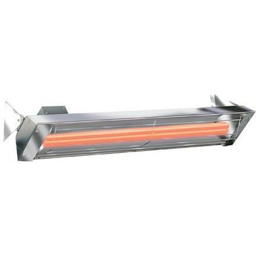 "Infratech 61 1/4"" 6000 Watt 240 Volt Dual Quartz Electric Outdoor Heater"