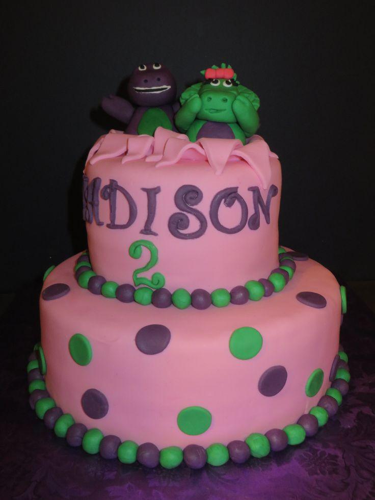 The 25 best Barney birthday cake ideas on Pinterest Barney cake