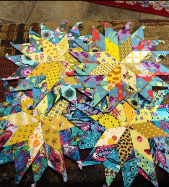 My Latest Article On Things: 8 Pointed Stars For My Latest Margaret Sampson George