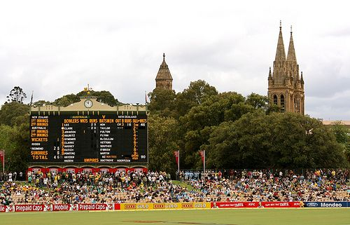 Historic and world famous the Adelaide Oval