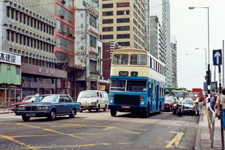 China Motor Bus / CMB former Wolverhampton 1967 Guy Arab MkV / Alexander (1982) rebody LX335 , CW 9967 on route 1, chassis new as Wolverhampton Transport MDA 199E