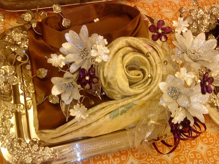 My Wedding hantaran...Baju Melayu & Sampin