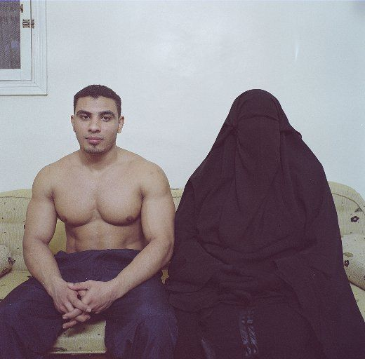 Denis Dailleux, Mother & Son, Cairo, Egypt, 2009