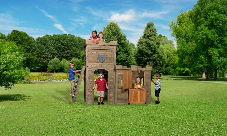 Wooden Playhouses - Windsor Castle Playhouse