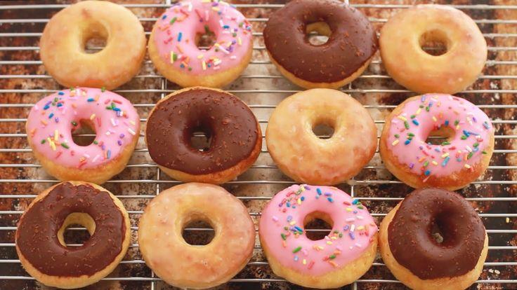 No-Knead Donuts (Baked Not Fried) - Gemma's Bigger Bolder Baking Ep 88