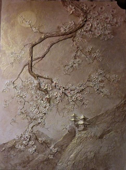 Декоративная шпаклевка для стен своими руками фото 143