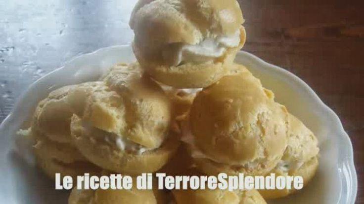 Le ricette di TerroreSplendore: antipasti - Bignè con tonno e ricotta