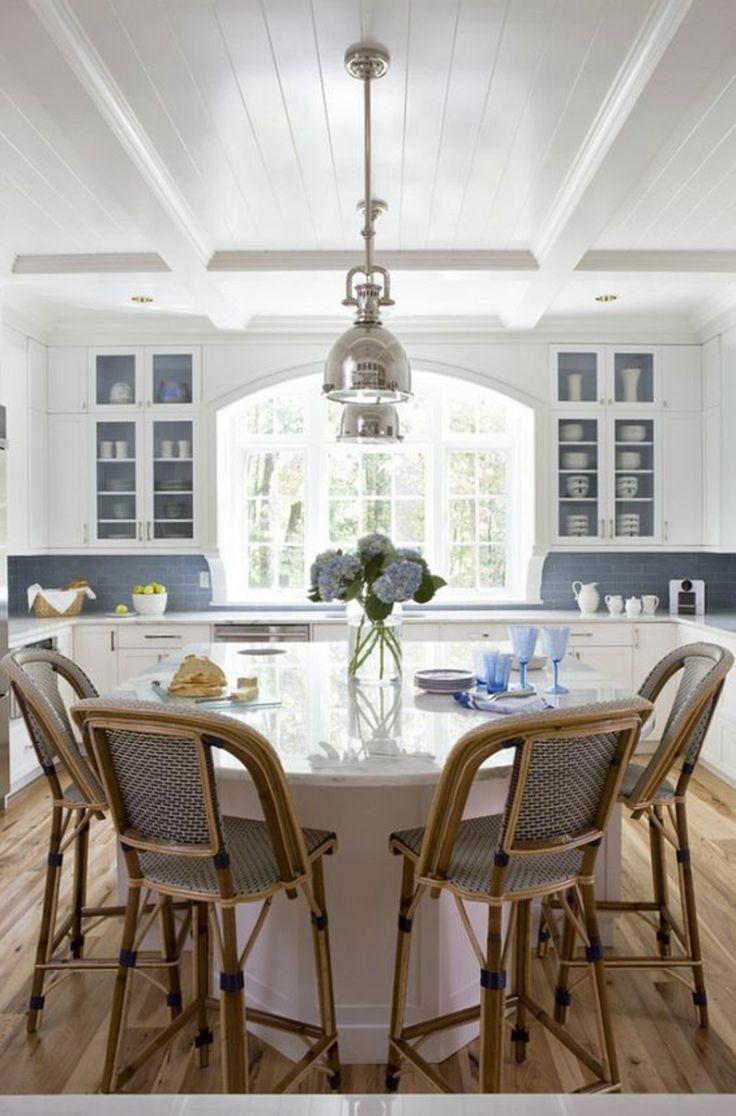 Die 25+ besten Ideen zu Kücheneinrichtung amerikanisch auf ... | {Amerikanische landhausküche grau 39}