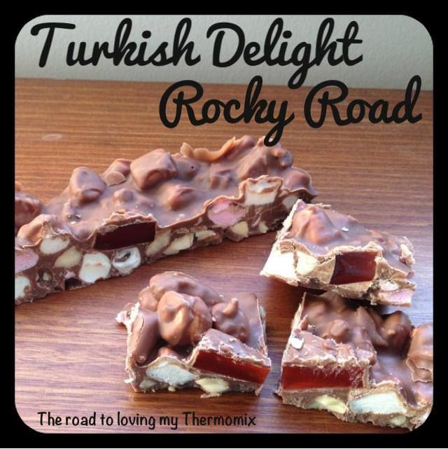 Originally posted to our Facebook page 12th November 2013.   This has been my go to recipe for as long as I can remember. I love Turkish Delight a little too much!!!   This makes great Christmas gifts.