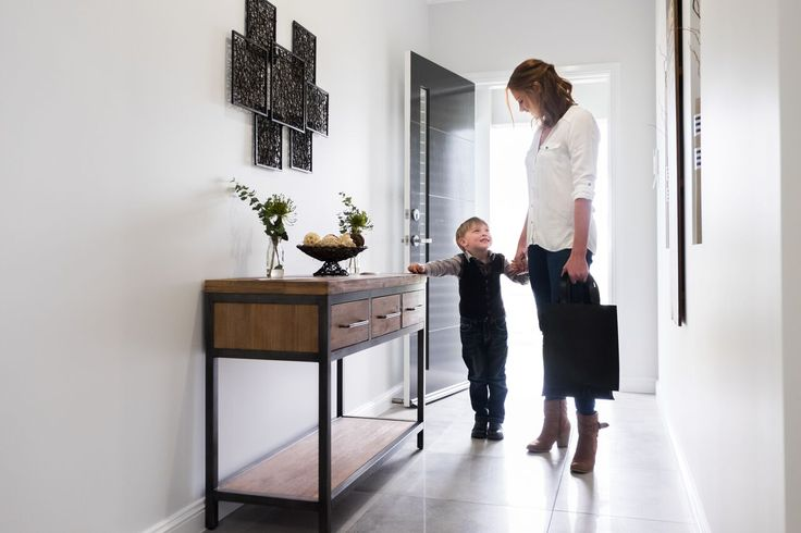 Single Builders Display Home I Entry Foyer I Family home