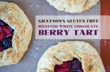 Grayson's Gluten Free Roasted White Chocolate Berry Tart
