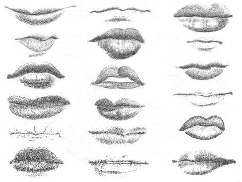 Dibujo al natural: Dibujando la boca