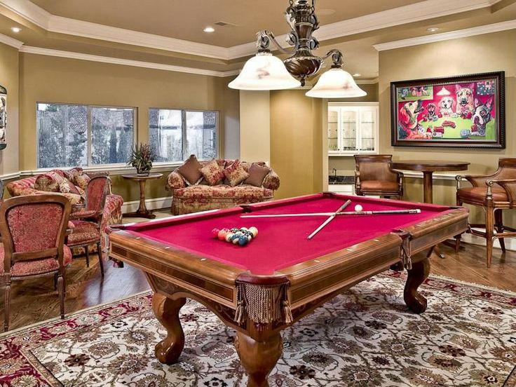 Mediterranean Game Room - Come find more on Zillow Digs!