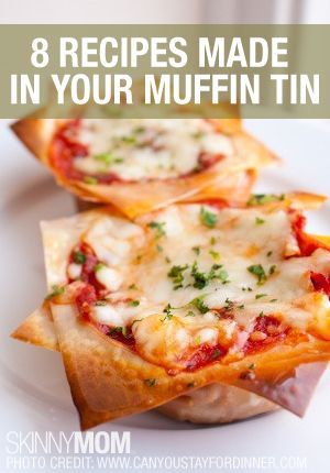 Repin and read interesting new ways to use your muffin tin.